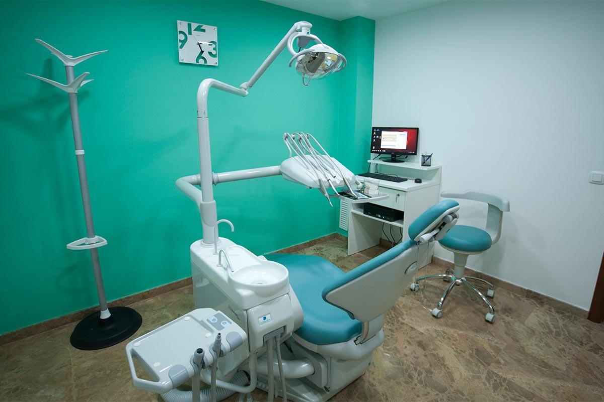Gabinete 2º en clínica dental Odóntica